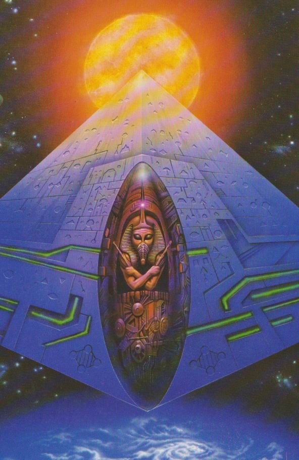 Space Pyr, Boros Attila | Retro-Futurism & Sci-Fi Art in ...