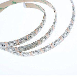 Minger 4x 50cm Ruban à LED RGB / RVB Bande Strip Flexible IP65 Etanche SMD 5050 Avec 5V USB Câble et 44 Touches Télécommande pour…