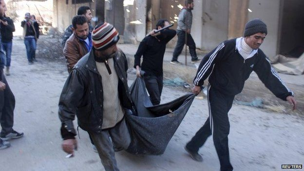 Syria conflict: UN reports mass executions by ISIS