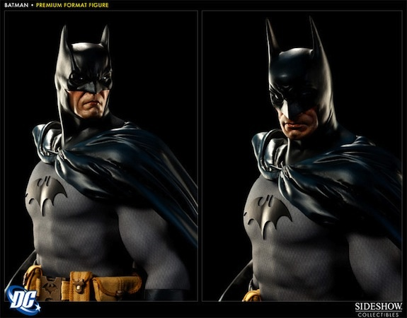 Alter Ego Comics presents the #Batman Premium Format Figure by #SideshowCollectibles. This towering statue of #TheDarkKnight stands over two feet tall and captures #Batman standing atop a gargoyle overlooking Gotham City. This limited edition Batman statue includes two different head sculpts for multiple display options. Each piece is hand painted and individually numbered.    Add the Batman Premium Format Figure to your collection today!    Product size: 25 inches x 10 inches x 17 inches: Dark Knights Batman, Batman 300131, Dark Knightbatman, Formations Figures, Dc Comic, Action Figures, Batman Premium, Batman Statues, Premium Formations