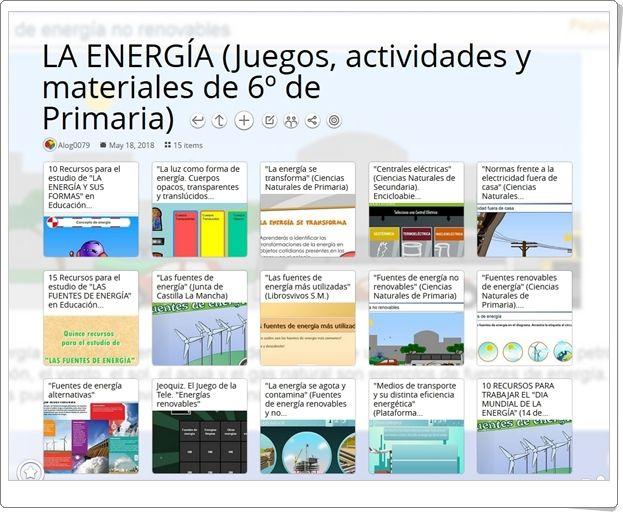 15 Juegos Actividades Y Materiales Para El Estudio De La Energía En 6º De Primaria Fuentes De Energia Energía La Electricidad Para Niños