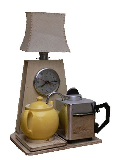 """The Goblin """"Teasmade"""" 1936  Tea is made. You get woken up with a pot of tea at your bedside.  Apparently this went out in the 70's"""