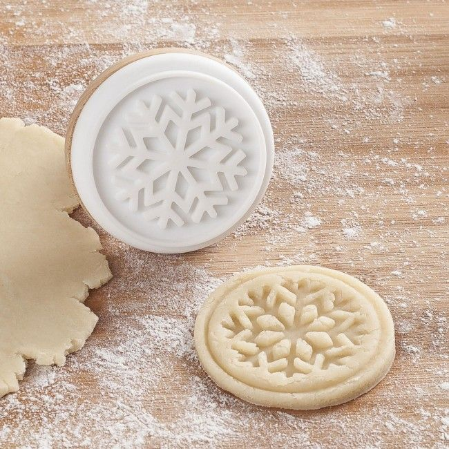 Add a little extra Christmas to your cookies with a Silicone Cookie Stamp. Just gently press the shape into your cookie dough before you bake.    Whether you're looking for stocking stuffers, Secret Santa presents, festive Christmas decor or even gift cards, we have a huge selection of unique holiday stuff to make your days and nights merry and bright.