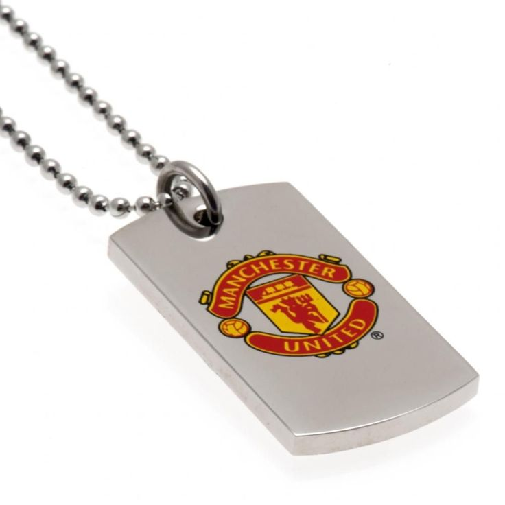 Stainless Steel Colour Crest Dog Tag