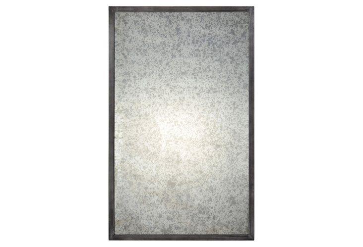 Randall Wall Mirror, Antiqued Gray - One Kings Lane