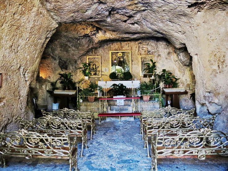 Mijas Spain Mijas Cave Chapel Ermita De La Virgen De La