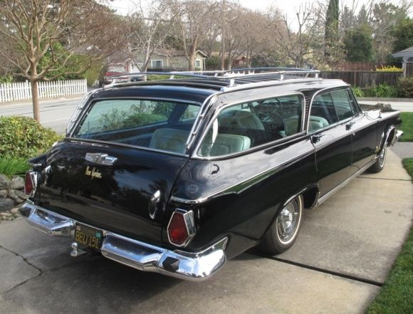 1-Owner Survivor: 1964 Chrysler New Yorker Wagon. This baby is slick!