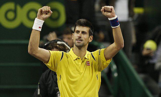 Djokovic stumbles into Qatar Open semi-finals #DailyMail