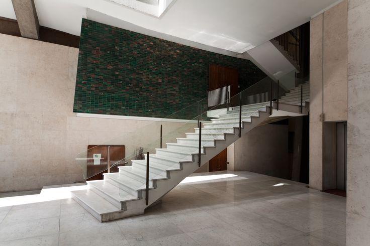 """AD Classics: Casa """"Il Girasole"""",Lobby. Image © flickr user giuliomenna"""