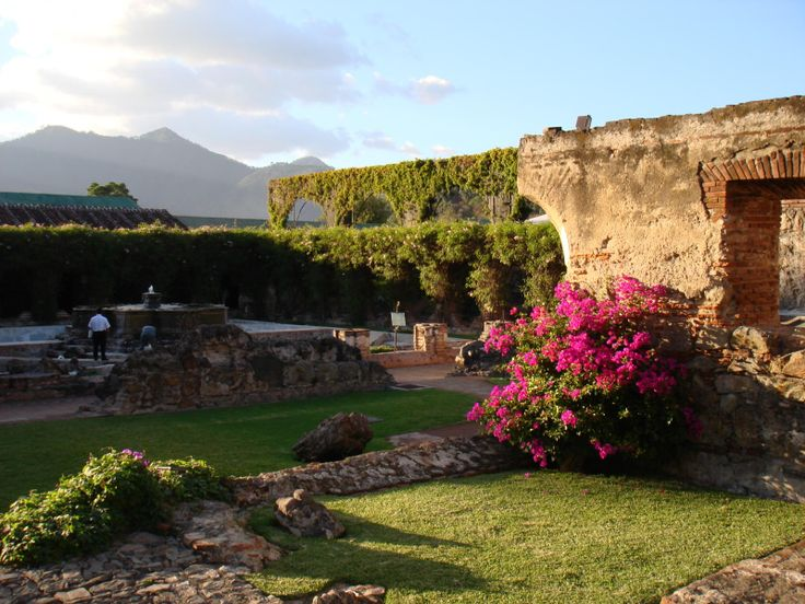 Antigua, Guatemala. This is the Hotel Casa Santa Domingo. It was so beautiful. We didn't stay at this 5 star when we were there 10 years ago BUT When we go back we are staying there for sure.