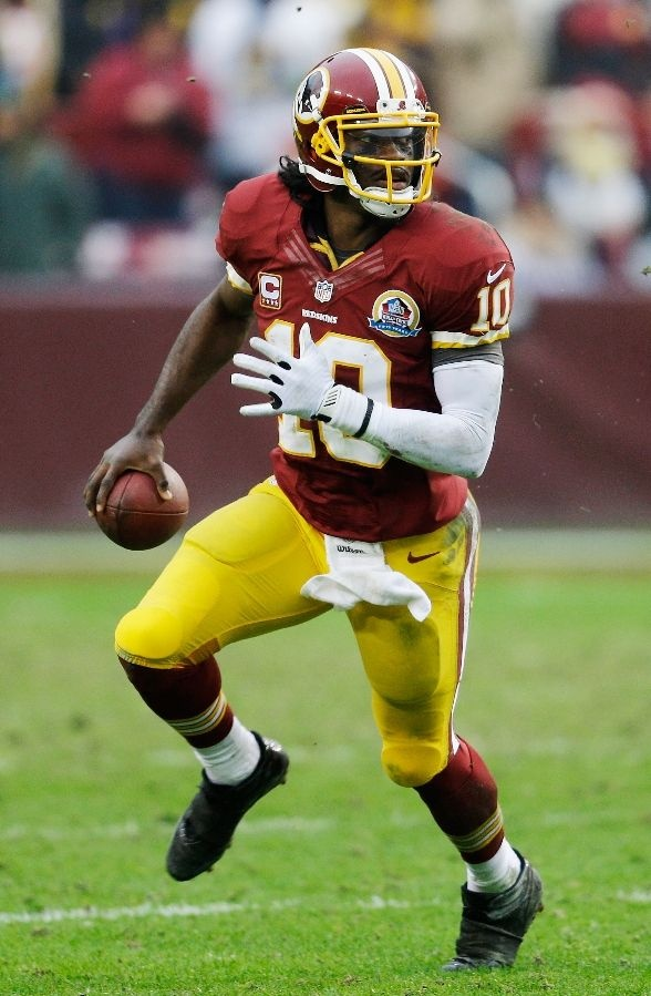 Quarterback Robert Griffin III