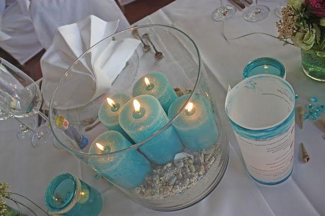 Maritimie Hochzeit in Türkis und Weiß im Riessersee Hotel Garmisch Bayern - wedding in turquoise and white