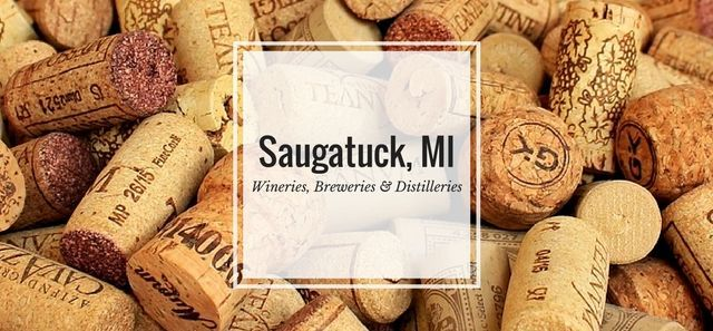 Plan a fall day of wine tasting throughout Saugatuck, Michigan with this list of the best Saugatuck wineries, breweries, and distilleries