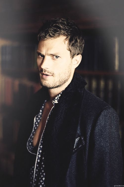 Jamie Dornan. So Christian Grey. Angry.