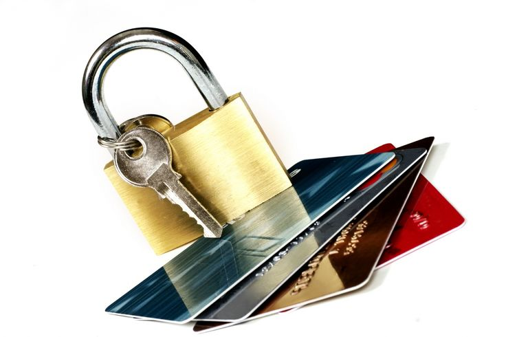 Secure credit card transaction