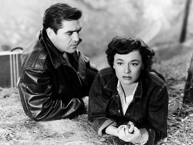 Steve Cochran and Ruth Roman in Tomorrow Is Another Day (1951)