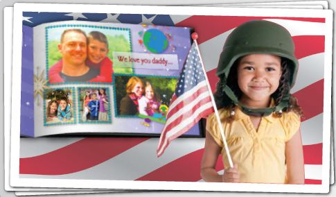 Send a FREE Photo Book to a member of the military stationed abroad! - Money Saving Mom®