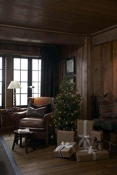 Winter cabin in Norway