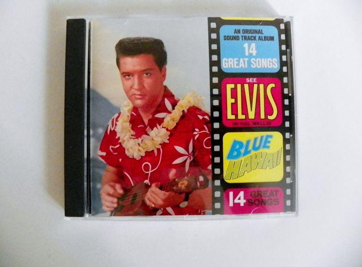 ELVIS PRESLEY CD BLUE HAWAII RCA 3683-2-R NM 1988 ORIGINAL SOUNDTRACK 14 SONGS #SoundtrackFilmScoreSoundtrack