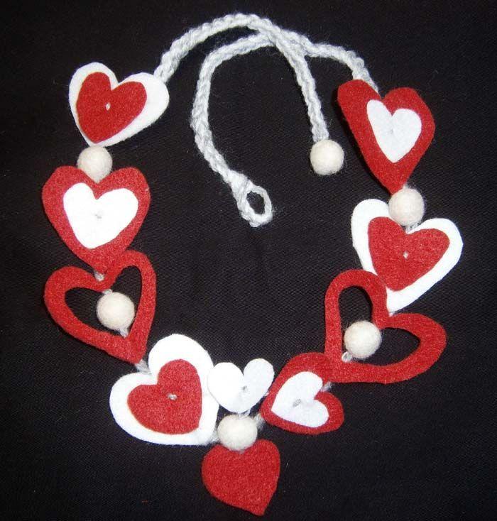 La collana del cuore per San Valentino - tutorial su Meryweb
