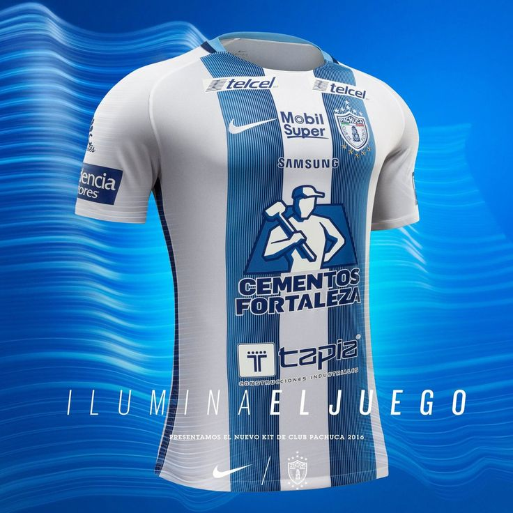 Club Pachuca 2016-17 Home Kit Released - Footy Headlines