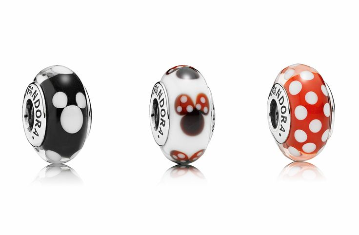 Introducing the Disney Jewelry Collection From PANDORA Glass Charms