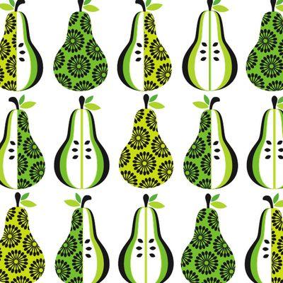 happy pears via Print & Pattern