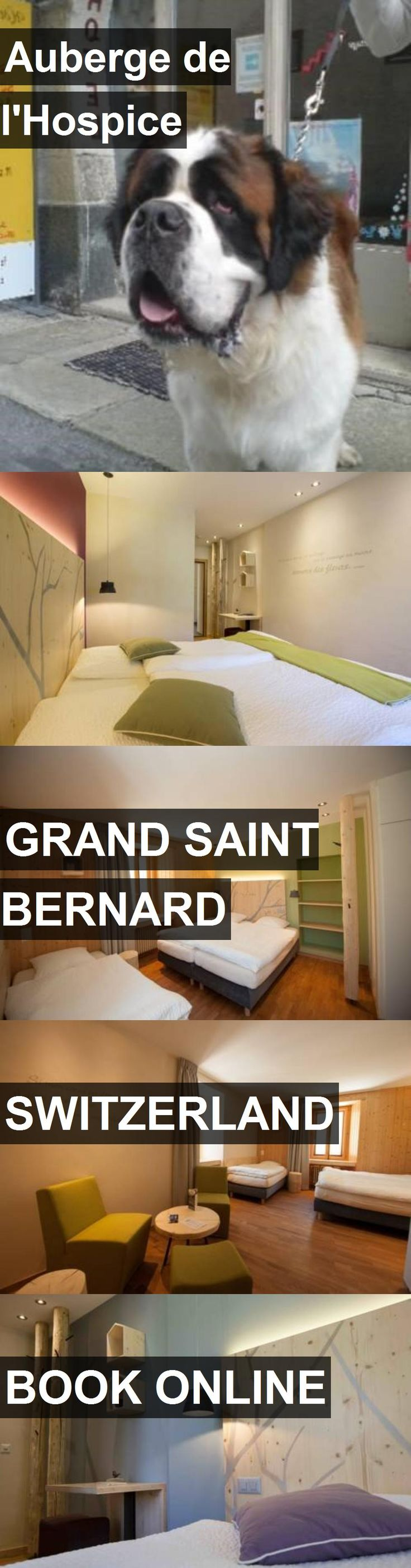 Hotel Auberge de l'Hospice in Grand Saint Bernard, Switzerland. For more information, photos, reviews and best prices please follow the link. #Switzerland #GrandSaintBernard #Aubergedel'Hospice #hotel #travel #vacation