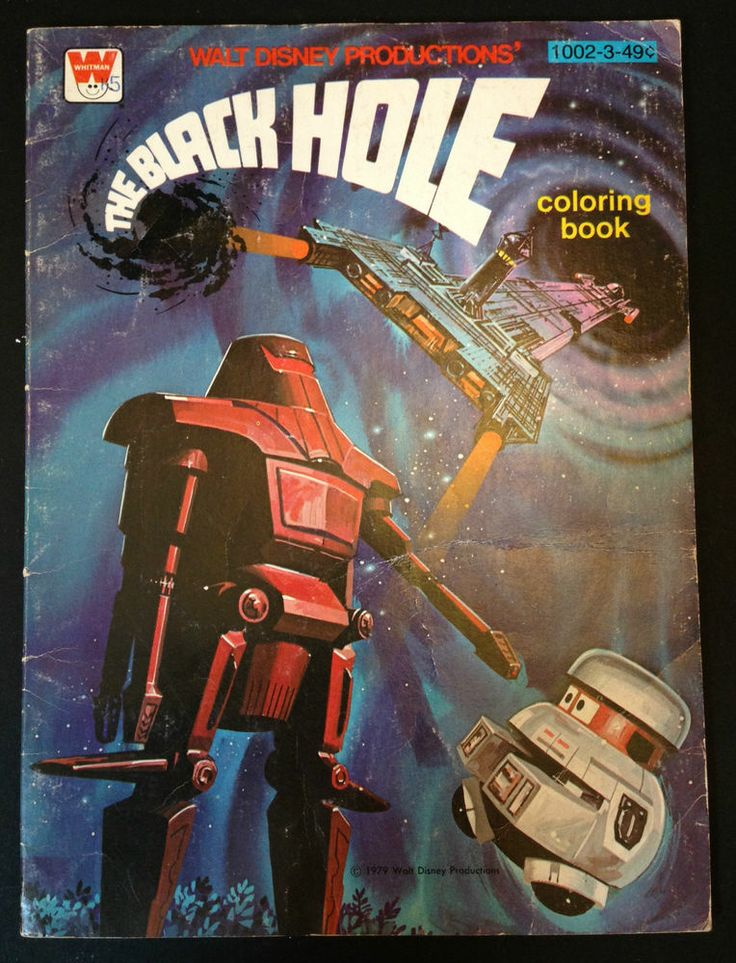 The Black Hole 1979 | Vintage 1979 Walt Disney 's The ...