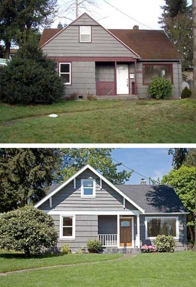 10 images about ugly house makeovers on pinterest before after home exterior home House transformations exterior