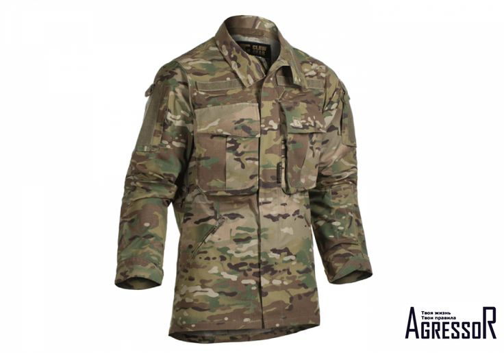 CLAW GEAR STALKER MK.III SHIRT MULTICAM