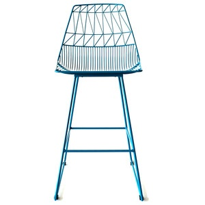 Bar Stool Peacock Blue Now Featured On Fab Home