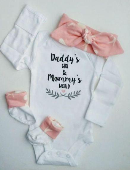 Neue Baby Shower Girl Ideen Geschenke Home Outfit 67 Ideen   – Baby Baby #babyzi…