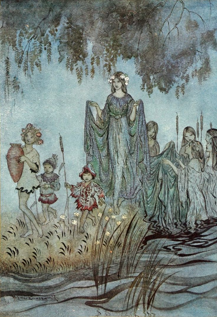 The history and the story of the river Severn, and its goddess Sabrina. From Welsh, British, and some Scottish mythology.