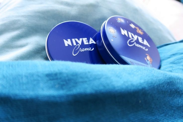 NIVEA lata azul para toda a familia