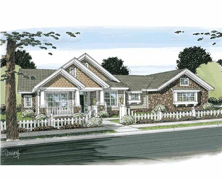 Eplans cottage house plan wonderful porches 2210 for Eplans cottage house plan