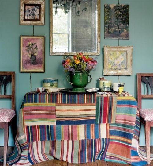 Vintage Bohemian Decorating | ThatBohemianGirl - My Bohemian Home