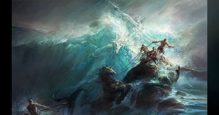 """I got """"Poseidon"""" on """"The Greek Godly Parent Quiz"""" on Qzzr. What about you?"""