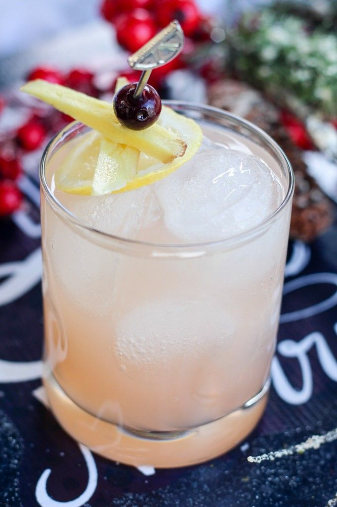 Grapefruit & Ginger Lemonade Mocktail