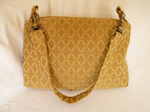 Women's gold purse  Shoulder Bag Vintage by tomkataccessories, $25.00