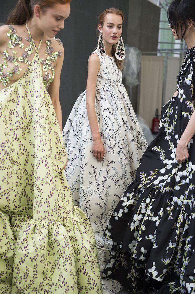 PFW2015 En backstage du defile Giambattista Valli haute couture automne hiver 2015 2016 26