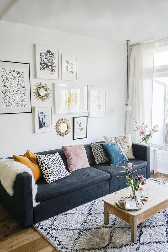 at home with creative nina nijland chapter friday gallery walls rh pinterest com