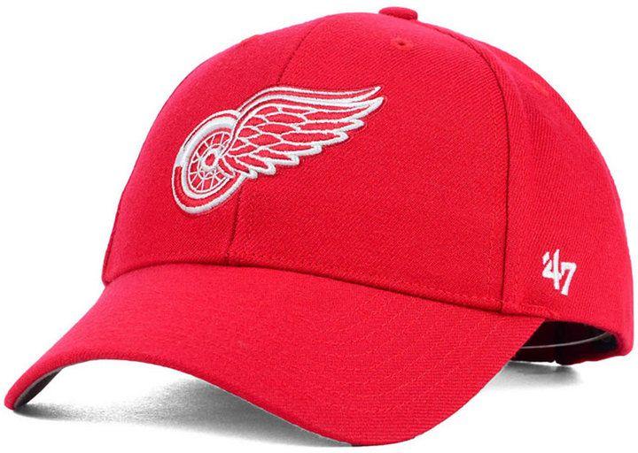 '47 Detroit Red Wings Curved Mvp Cap
