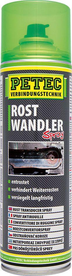 (21,98€/L) PETEC ROSTUMWANDLER Art.-Nr.70040    PROFI SPRAYDOSE mit 500 ml