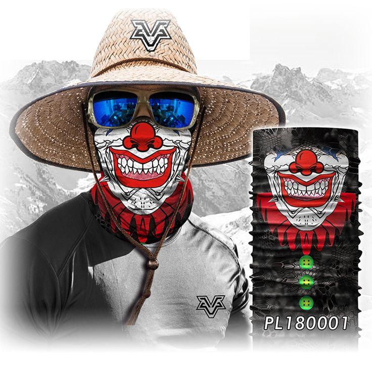 BJMOTO Magic Halloween Scarf Mask Motorcycle Moto Winter Windproof Face Sun Ski Mask Balaclava Bandana Masks