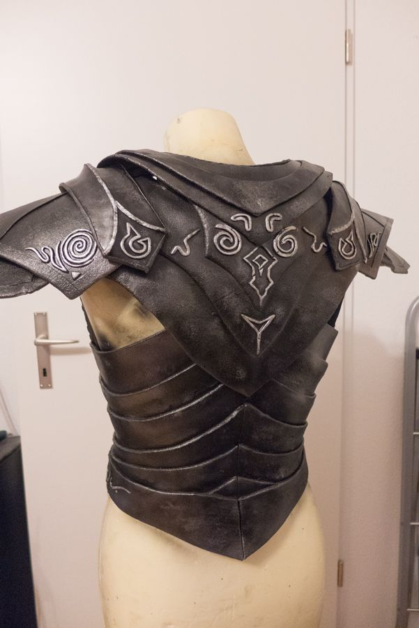 Ebony Armor - WIP 3b by Folkenstal on deviantART