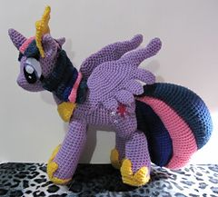 Crochet Pattern Princess Twilight Sparkle