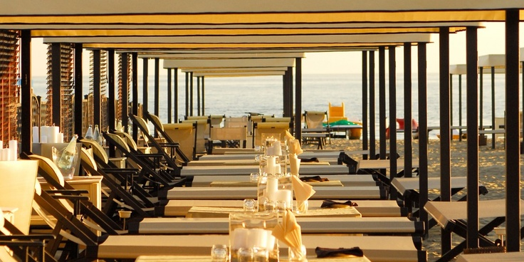 Grand Hotel Imperiale: The hotel's Minerva Beach Club is the see-and-be-seen spot of Forte dei Marmi.