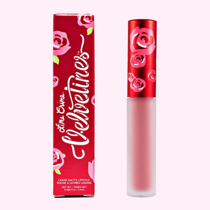velvetines matte lipstick cupid petal pink vegan cruelty free makeup cosmetics