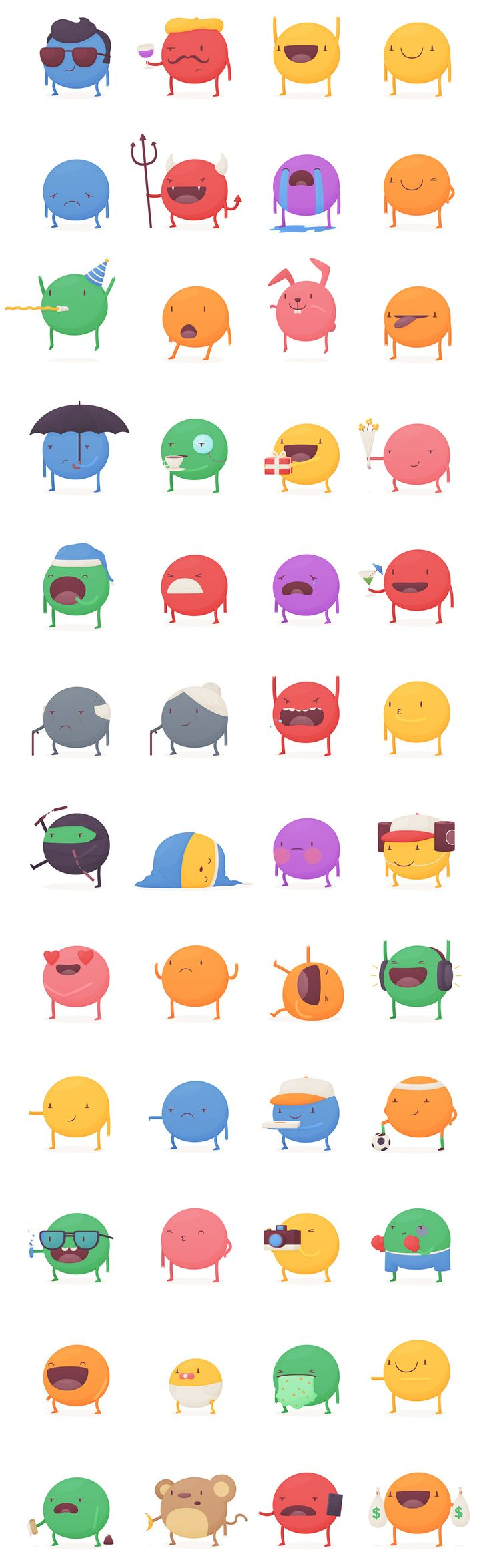 Kewe Stickers on Behance